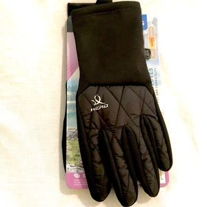 Head hybrid cold weather runner gloves NWT